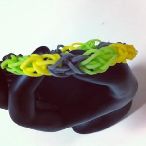 Réalisation du bracelet nid d'abeille Rainbow Loom