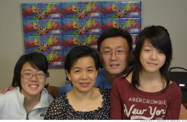 Le créateur et sa famille