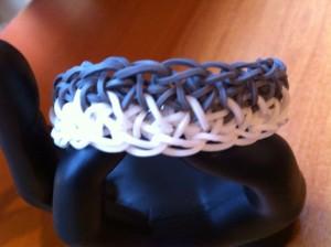photo du bracelet bicolore