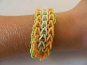 bracelet triple simple rainbow loom