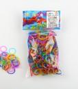 multicolor jelly Rainbow Loom