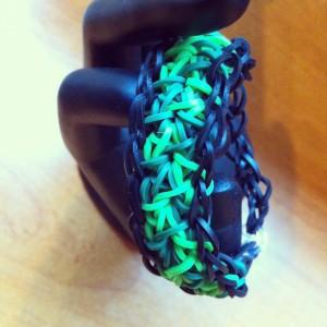 Bracelet Rainbow Loom Fen