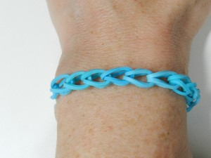 chaine simple Rainbow Loom