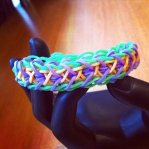 bracelet twist ou libert twist Rainbow Loom