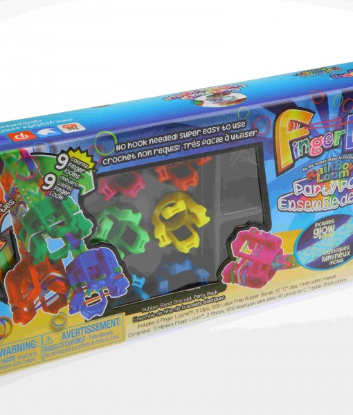 Finger loom party Set de Rainbow Loom