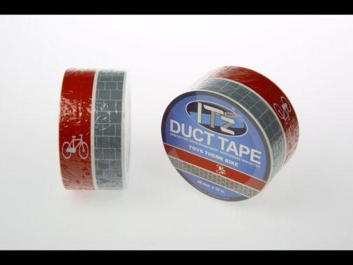 motif vélo it'z duct tape
