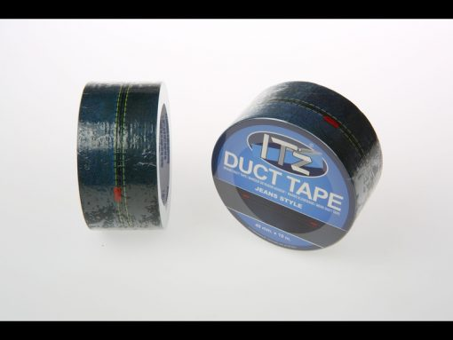 motif jean's it'z duct tape