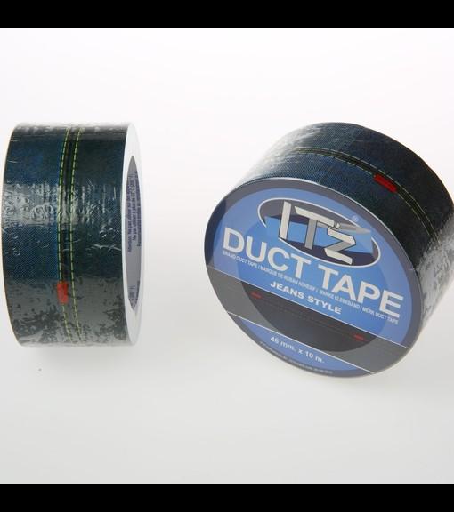 motif jean's it'z duct tape