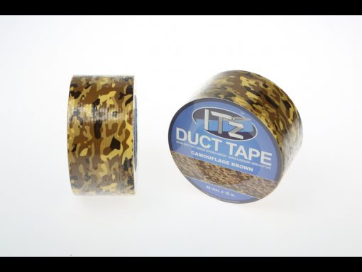 DUCT TAPE CAMOUFLAGE MARRON