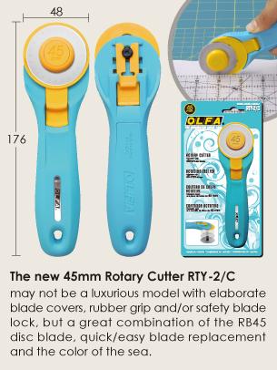 cutter rotatif OLFA