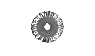 lame de rechange cutter rotatif bords dentelés