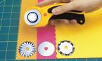 lames décoratives pour cutter rotatif OLFA