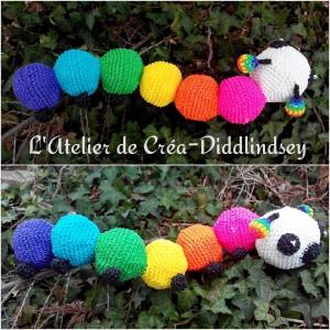 chenille rainbow loom loomigurumi