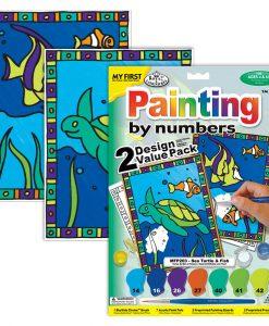 Peintures au N° Enfants