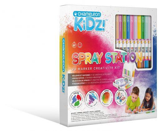 CK1401 Spray Station 20 Render